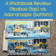 A Photobook review. Adoramapix Seamless Lay flat vs Picaboo