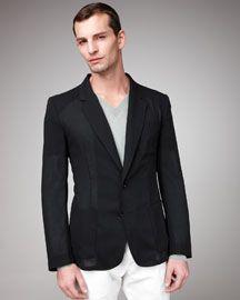 Maison Martin Margiela  Sheer Wool Jacket