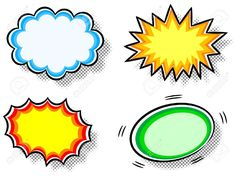 Find Vector Illustration Four Colorful Effect Bubbles stock images in HD and millions of other royalty-free stock photos, illustrations and vectors in the Shutterstock collection. Free Vector Graphics, Free Vector Images, Best Comic Books, Book Images, Royalty, Bubbles, Clip Art, Cartoon, Comics