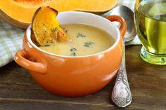Apple Butternut Squash Soup made in your Blendtec or Vitamix blender by @BlenderBabes