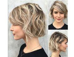 Cieniowane fryzury
