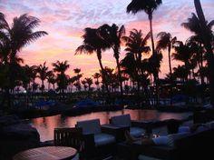 Radisson Aruba Resort, Casino & Spa: sunset