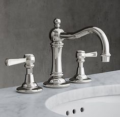 Pinterest the world s catalog of ideas for Restoration hardware bathroom faucets