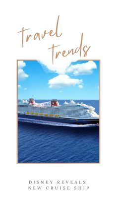 The New Disney Cruise Line Ship Will Unlock Enchanting Family Vacations in Summer 2022. Check out the Wish. Set Sail, Disney Cruise Line, Best Places To Travel, Family Vacations, Travel With Kids, The Expanse, Travel Tips, Sailing, Ship