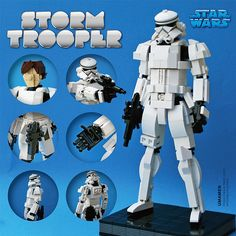 LEGO: Stormtrooper (8inch) | I submitted to LEGO Ideas. idea… | Flickr