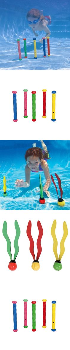 baby kids swimming snorkel swimmer swimming pool accessories water toy underwater toys Diving stick seaweed sea baby funny toy
