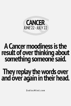 charming life pattern: cancer - horoscope - moodiness ...