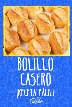bolillo Mexican Sweet Breads, Mexican Bread, Mexican Snacks, Mexican Food Recipes, Sweet Recipes, Easy Bread Roll Recipe, Bakery Recipes, Cooking Recipes, Almond Pastry
