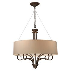 Found it at Wayfair - Victor Drum Shade in Taupe