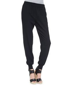 Shop Joie Diara Jersey Slouch Pants from stores. Joie Clothing, Elastic Waist Pants, Workout Pants, Capri Pants, Clothes, Shopping, Tops, Separates, Girly Stuff