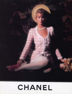 Chanel 1990 Claudia Schiffer