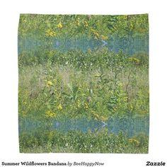 Summer Wildflowers Bandana
