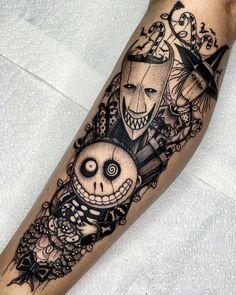 Dark Disney Tattoo, Disney Sleeve Tattoos, Dark Tattoo, Disney Tattoos, Badass Tattoos, Mom Tattoos, Cute Tattoos, Body Art Tattoos, Small Tattoos