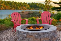 Are you designing a new stone patio area for your home? Or perhaps you have already created your ideal space and are looking to update your area with a stone fire pit? If so, the Zentro Fire Pit Insert is the fire pit for you!