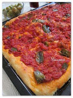 RECETAS DE MACUMANI: COCA DE TOMACA ( Coca de tomate )#.UxNKf_l5M2A#.UxNKf_l5M2A