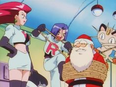 Team Rocket snags Santa's TMs! Anime Screenshots, Team Rocket, Catch Em All, Something To Do, Santa, Baseball Cards, This Or That Questions, Retro