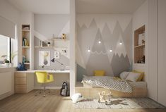 How to Divide a Room into Two Zones 12 Ways and 25 Original Examples 010 The post How to Divide a Room into Two Zones: 12 Ways and 25 Original Samples appeared first on Woman Casual - Kids and parenting