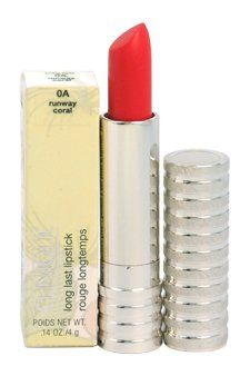 Clinique Long Last Lipstick Runway Coral *** You can find more details by visiting the image link.Note:It is affiliate link to Amazon.