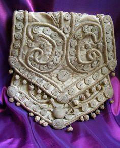 16c5966f3d61 18thC Antique FRENCH PASSEMENTERIE PURSE handmade Vintage Bags