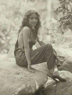 Silent film star of the 1920s, Bessie Love.