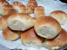 Pan di panna - brioches supersoffici