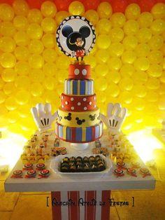 Mickey Mouse Party by Arte da Ka