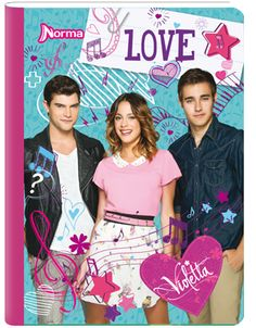 Cuaderno Violetta  Ps. (yo tengo uno igual se los juro!!!)
