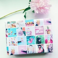wrap.me—personalised photo wrapping paper