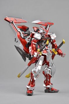[Modelers-G] MG 1/100 Gundam Astray Red Frame - Metallic Painted Build