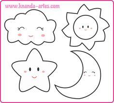 Imagini pentru molde estrela feltro