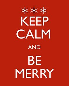 Mary Xmas: Xmas KEEP CALM