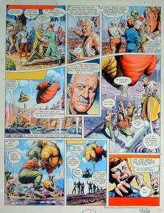 Dan Dare The Ship That Lived page 2 (Original) art by Frank Hampson at The Illustration Art Gallery