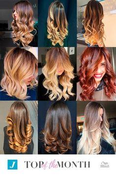 Biondo dorato, rosso intenso e castano caramello... La nostra Top of the Month ci accende di calde sfumature.   Quali sono le tue preferite?  #cdj #degradejoelle #tagliopuntearia #degradé #igers #musthave #hair #hairstyle #haircolour #longhair #ootd #hairfashion #madeinitaly #wellastudionyc #topofthemonth