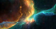 Глубокий космос Туманность, 4096x2160