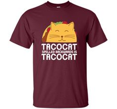 Funny Graphic Taco and Cat Lovers T-Shirt t-shirt