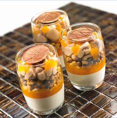 Les recettes de l'Ecole du Grand Chocolat - Transparence Abricot Amande
