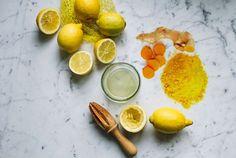 lemon juice turmeric powder