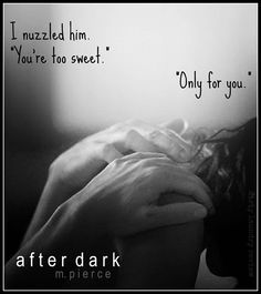 After Dark by M Pierce ( @mpiercefiction  ) graphic created by @dirtylndryrview
