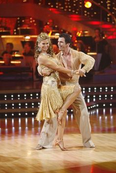 Kathy Ireland and Tony Dovolani in the season premiere of Dancing with the Stars. Kym Johnson, Ireland Pictures, Donny Osmond, Kathy Ireland, Season Premiere, My Youth, Dancing With The Stars, Picture Photo, Tv Shows