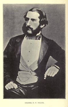 """Colonel F.T. Pollok, author of """"Wild sports of Burma and Assam"""". I know nothing else about him, but I'm sorta intrigued by his shiny trousers."""