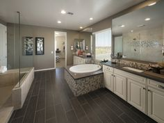 Enjoy the relaxation of a heavenly bathroom.
