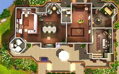 sims 3 house plans - Google Search