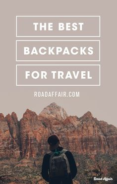 Save yourself hours upon hours of research and check out our guide on how to choose the best travel backpack for your needs.
