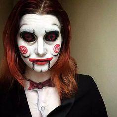 Esta chica hace disfraces increíbles en su rostro. Mira 16 de ellos