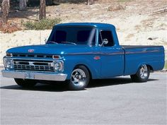 1966 Ford F-100 PU I think this might be the stance i want on my truck!
