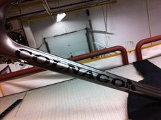 Carbon Works Colnago Decals applied to the down tube of this custom paint project
