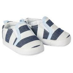 Just One You™Made by Carter's® Newborn Boys' Slip On Shoe - Blue/White NB