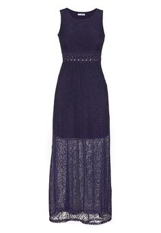 open crochet waist lace maxi dress available at #Maurices