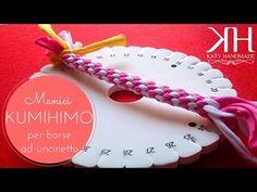 ♡ [Tutorial #12] Kumihimo | Manici borse uncinetto | Handles bag ♡ - YouTube