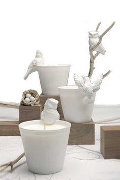 Aviary Bird Candle